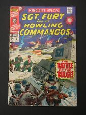 Sgt. Fury King Size Special #4 VG- 1968 Low Grade Marvel Comic