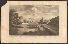 More details for 1779 ca antique print- inverness - view of inverness with bridge and fort george