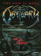Obituary The End Complete Rc Records 1992 8x11 Promo Poster Ad