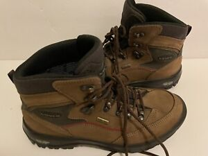 """LOWA BOOTS """"Renegade GTX MID"""" HIKING BOOTS  CHESTNUT BROWN SUEDE GORE-TEX 8 40"""