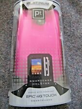 NEW Platinum Pt STC22SP PINK Smartcase & Holster for Samsung Epic 4G Touch Phone