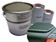 1,75 Liter Set 2K Autolack Shadow Green Matt Grün Acryl Trend Farbe Lackpoint