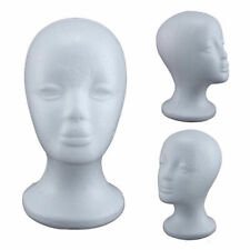 Female Styrofoam Mannequin Manikin Foam Head Model Hat Wig Display Stand