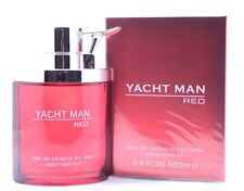 YACHT MAN RED * Myrurgla * Cologne for Men * 3.4 oz * NEW IN BOX Sealed