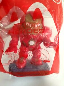 McDonalds Happy Meal Toy Marvel Studios Heroes Hulkbuster 2020 Red #8