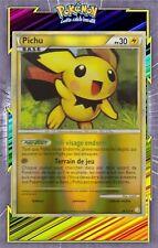 Pichu Reverse - HS01:HeartGold SoulSilver - 28/123-Carte Pokemon Neuve Française