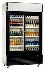 GETRÄNKEKÜHLSCHRANK LG-400 - GLASTÜR & UMLUFT, Flaschenkühlschrank