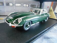 JAGUAR E-Type Series II MK2 Coupe green grün 1968 Resin CULT Scale RAR 1:18