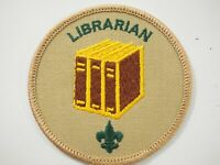 """Boy Scouts of America Librarian 3"""" Cloth Patch"""