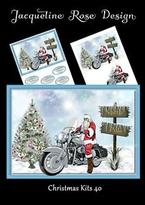 Christmas Kits 40 Decoupage 2 A4 Sheets These Are Not Die-Cut