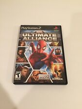 Marvel: Ultimate Alliance PS2 Game (Sony PlayStation 2, 2006)