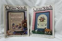 Cross Stitch & Country Crafts magazine Premier issue and Mar/April 86