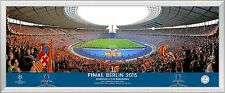 2015 UEFA Champions League Final Framed Panoramic Match