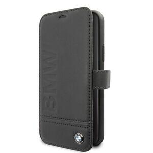 Handyhülle Apple iPhone 11 Pro BMW Bookcover Bookcase Echtleder schwarz