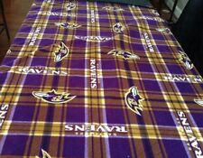 Ravens Handmade Throw Blanket