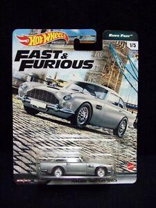 Hot Wheels Fast & Furious Euro Fast Aston Martin DB5.
