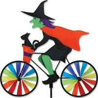Halloween Witch Cat Bike Wind Spinner 20""