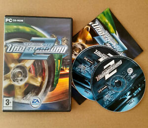 Need For Speed Underground 2 PC CD-ROM Wiindows