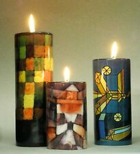 "MUSEUMS TEELICHTHALTER - ""Paul Klee"" - 3er - SET Teelichthalter - NEU !!"