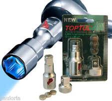 "TOPTUL SOCKET EXTENSION BAR + LED LIGHTING & ADAPTOR 3/8"" 1/2"" DRIVES *NEW* RR24"