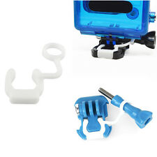 5X Rubber Silicone Locking Plug Lock Insert for GoPro Hero 4 3+ 3 2 Accessories