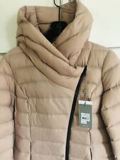 Soia & Kyo Women's KARELLE Ladies Down Coat, Quartz Medium NWT ASYMMETRIC Close