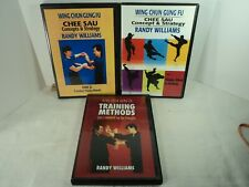 Wing Chun Gung-Fu Kung-Fu Martial Arts Training 3 DVD Set Randy Williams