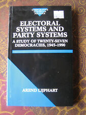 Electoral Systems and Party Systems - Lijphart, Arend