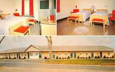 Falmouth Massachusetts General Swift Motel Multiview Vintage Postcard K55141