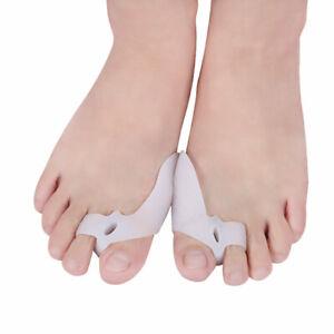 Big Toe Separator Pedicure Hallux Valgus  Silicone Gel Bunion Splint Corrector