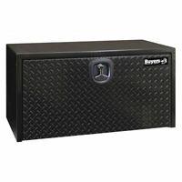 "Buyers Products 1702500 Truck Box,Underbody,Steel,24""W,Black,4.5 Cu. Ft."