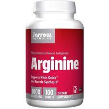 Jarrow Formulas, Arginin, 1000 mg, 100 Tabletten