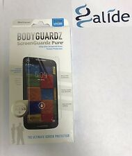 2 X BodyGuardz Pure Tempered Glass Screen Protector-Moto X (2nd Gen)