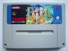 E.V.O. Search for Eden EVO for Super Nintendo SNES PAL English