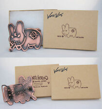 Frank Kozik SIGNED Bronze Smorkin' Labbit Belt Buckle Subber LE 30 Switcheroo