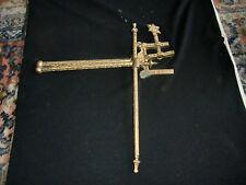 Antique  Jewish Tora Scroll Holder- cast with gilt finish