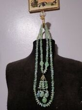 Miriam Haskell vintage necklace and earrings set