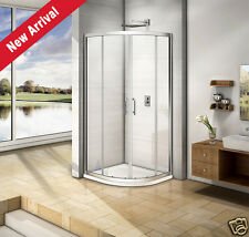 900x900 Quadrant Shower Enclosure and PU Tray Glass Corner Cubicle Anti-glare