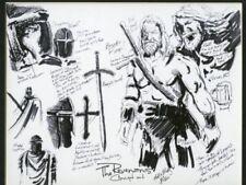 Mick & Matt Glebe Revenans comic book illustration artwork one of one concept