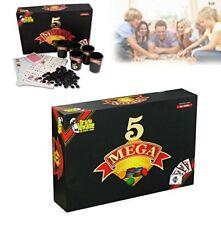 Gioco da tavolo di società MEGA 5 il gioco delle 5 combinazioni carte dal Negro.
