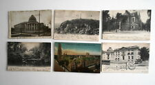 LOT OF 6 NEW HAVEN  CONNECTICUT CT ANTIQUE POSTCARDS YALE UNIVERSITY BATTELL ETC