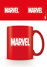 Boxed Mug Ceramic Gift - Marvel Red Logo Tea Coffee Mug