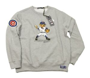 Ralph Lauren x MLB Collection Limited Edition Polo Bear Chicago Cubs Sweatshirt
