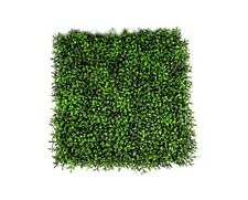 Artificial Boxwood Hedge Wall Panels Vertical Garden 50cm x 50cm Anti-UV