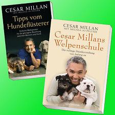 CESAR MILLAN | TIPPS VOM HUNDEFLÜSTERER + CESAR MILLANS WELPENSCHULE (Buch)