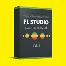 FL Studio Essentials SAMPLE PACK Vol. 4 Hip Hop DRUMS, MPC, Ableton ⭐️⭐️⭐️⭐️⭐