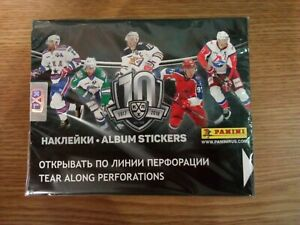 Block (50 packages) in factory packaging according to the PANINI KHL 2017-2018