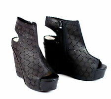 Damen Schuhe sexy Overknee Gogo Party Stiefel designer Keil 3429 Grau 36