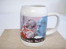 Michael Jordan Chicago Bulls 1997 Commemorative Tankard Ceramic Beer Stein Mug