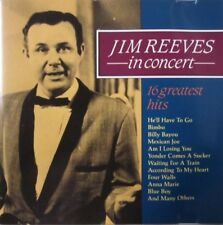 JIM REEVES - IN CONCERT - 16 GREATEST HITS  -  CD